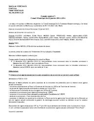 CR1 du 22 janvier 2015