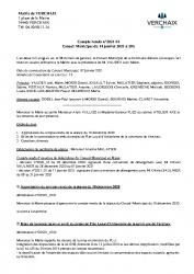 CR1 du 14 janvier 2021